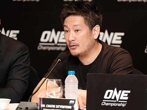 Chủ tịch Tập đoàn truyền thông thể thao hàng đầu châu Á ONE Championship Chatri Sitydtong. Ảnh: YN