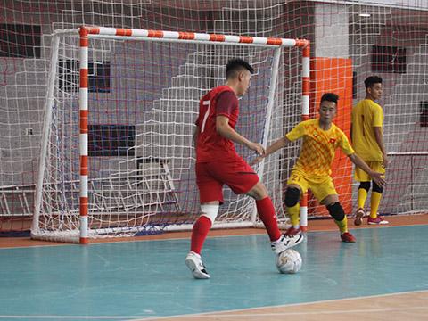 U20 Việt Nam đã có những trận đấu chất lượng trước khi bước vào giải đấu chính thức ở Iran. Ảnh: TD