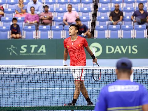 Hoàng Nam có mặt ở hai trận thắng của Việt Nam trước Kuwait. Ảnh: TT