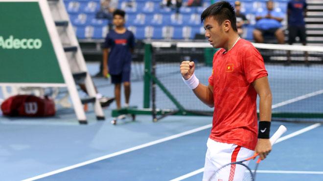 Lý Hoàng Nam giúp quần vợt Việt Nam tiến gần mục tiêu thăng hạng