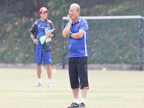 HLV Park Hang Seo hứa hẹn sẽ lại là chìa khoá mở ra thành công cho Việt Nam ở giải đấu đỉnh cao sắp tới. Ảnh: Hoàng Linh
