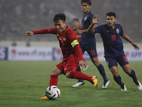 Các đối thủ trong khu vực sẽ cẩn trọng hơn rất nhiều khi đối đầu Quang Hải cùng đồng đội ở vòng loại World Cup 2022. Ảnh: Hoàng Linh