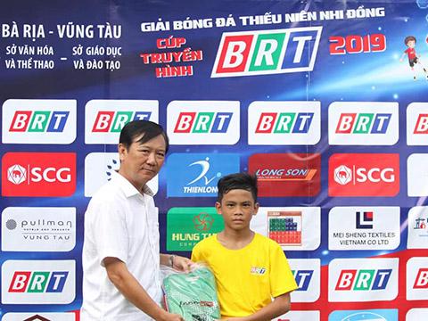 Lê Vũ Thái là tài năng nổi bật của bóng đá Bà Rịa-Vũng Tàu. Ảnh: Anh Hải