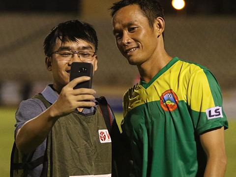 Bình Phước của cựu tuyển thủ QG Vũ Phong đã trở lại cuộc đua thăng hạng V-League. Ảnh: VPF