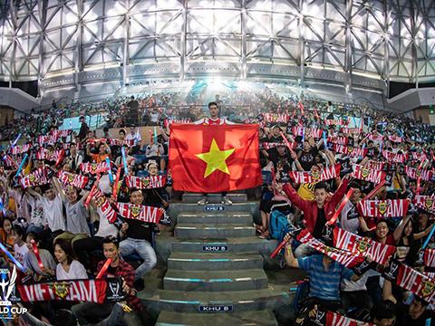 Thể thao điện tử Việt Nam đặt mục tiêu vô địch SEA Games 30. Ảnh: WCLM