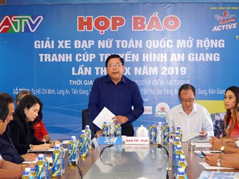 Buổi họp báo của giải đấu lần thứ 20 diễn ra vào sáng 10-7 tại TP.HCM. Ảnh: Hải Vân