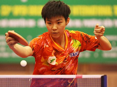 Sun Chen đã giúp ích rất nhiều cho đội nữ TP.HCM giải năm nay. Ảnh: Lê Giang