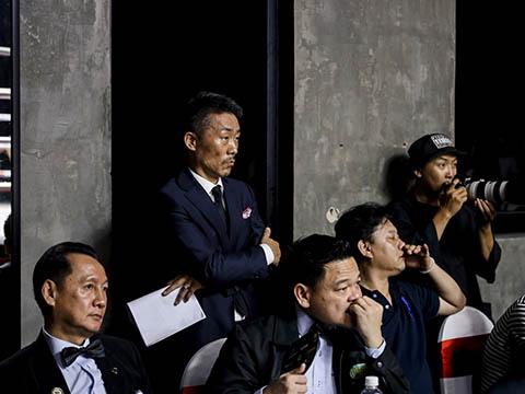 Trưởng Ban tổ chức giải Kim Sang Bum tiết lộ có thể mời Manny Pacquiao đến Việt Nam để thúc đẩy boxing Việt Nam. Ảnh: BM