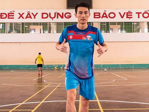 Quốc Hưng đang là đương kim Quả bóng vàng futsal Việt Nam. Ảnh: NV