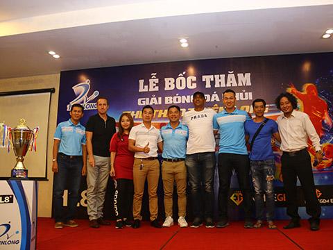 Giải sẽ chính thức diễn ra từ ngày 17/8 đến 29/9 trên sân Đầm Sen (Công an TP.HCM, Quận Tân Phú). Ảnh: TH