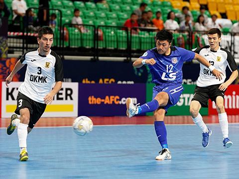 Ngoại binh Shimizu là cầu thủ hay nhất của Thái Sơn Nam ở giải năm nay. Ảnh: Độc Lập
