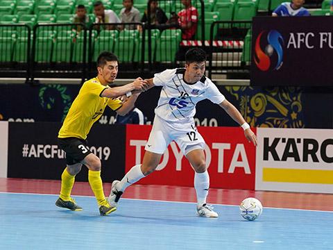 Thần đồng futsal Nhật Bản Shimuzu sẽ là tài năng sáng giá của futsal châu Á trong tương lai gần đang đầu quân cho Thái Sơn Nam năm nay. Ảnh: ĐL