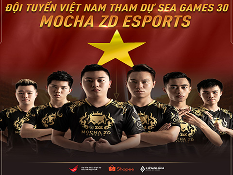 """Mocha ZD eSports xứng đáng đại diện Việt Nam """"săn"""" HCV ở Philippines sắp tới. Ảnh: BTC"""