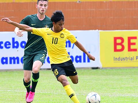 U18 Malaysia và U18 Australia đã đạt được hơn 50% khả năng loại chủ nhà U18 Việt Nam khỏi cuộc chơi sau vòng bảng. Ảnh: VFF