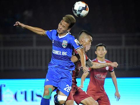 Văn Vũ cũng là một cầu thủ có thể gây đột biến cho đội bóng đất Thủ khi gặp Hà Nội. Ảnh: VPF