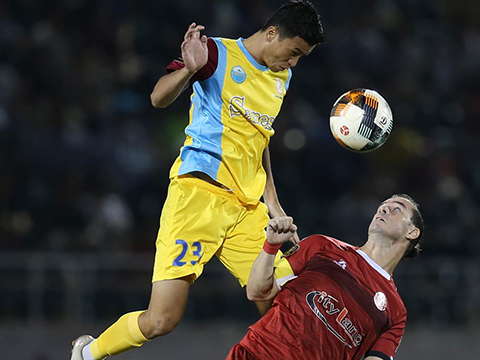 Cũ ngã đau của TP.HCM vòng 19 cũng khiến cuộc đua V-League 2019 thêm phần quyết liệt. Ảnh: VPF