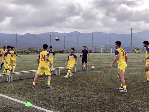 U18 Việt Nam đã sẵn sàng cho giải đấu trên sân nhà sắp tới. Ảnh: VPF