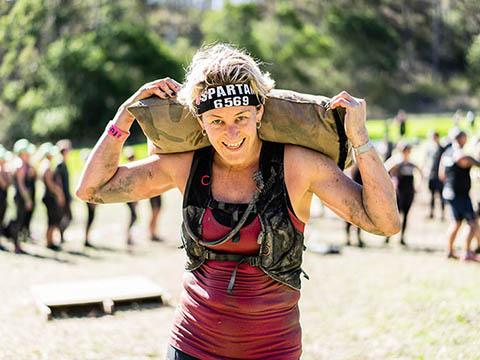 Spartan Race là hành trình vượt qua giới hạn bản thân đầy gian khổ. Ảnh: BTC
