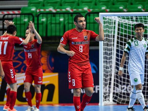 Ngoại binh duy nhất của Nagoya Oceans ở giải năm nay là Pepita đã có 5 bàn cho CLB trên đất Thái Lan. Ảnh: AFC