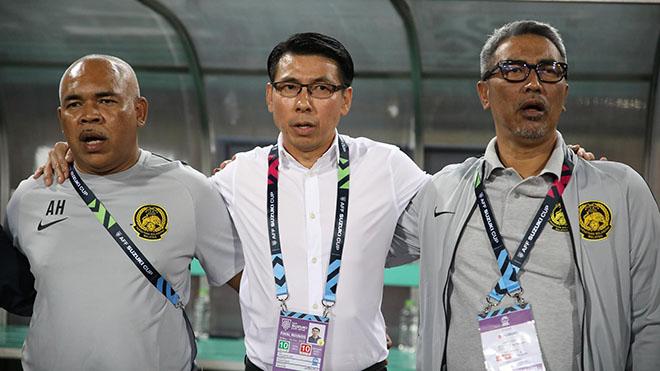 HLV Tan Cheng Hoe rất sợ thất bại lần thứ 4 liên tiếp với Việt Nam. Ảnh: Hoàng Linh