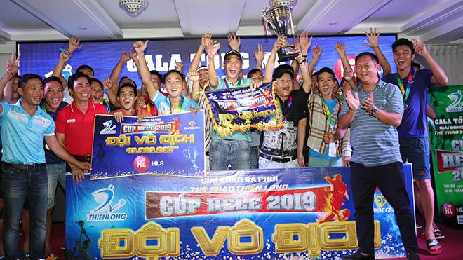 Minh Nhật FC vô địch giải đấu Thể thao Thiên Long - Cúp Hele 2019. Ảnh: Đức Đồng