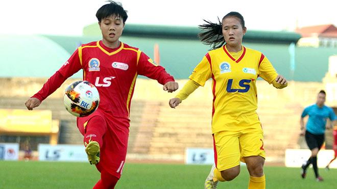 TP.HCM 1 dễ dàng bảo vệ ngôi đầu bảng với 3 điểm nhiều hơn Phong Phú Hà Nam. Ảnh: PH