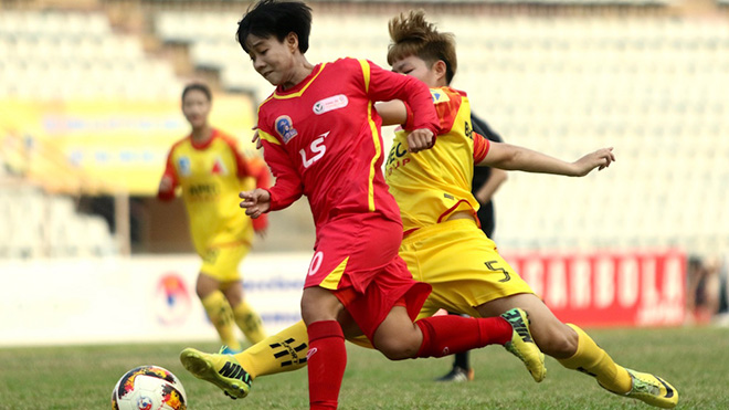 Các học trò của HLV Kim Chi đã có chức vô địch lần thứ 8 trong lịch sử CLB. Ảnh: PH