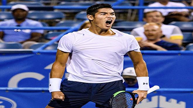Tay vợt gốc Việt Thái Sơn 'thách thức' Hoàng Nam