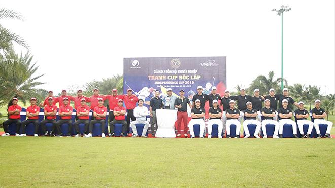 Giải đấu tranh Cúp Độc Lập 2019 là sự kiện lớn của golf Việt trong năm nay. Ảnh: TC