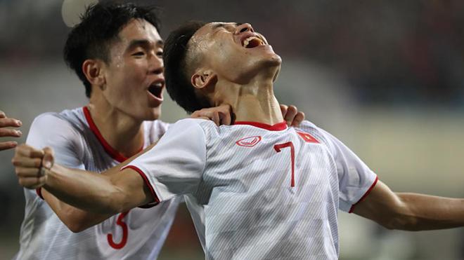 Triệu Việt Hưng là cái tên nổi bật nhất trong số 4 cầu thủ HAGL ở U22 Việt Nam hiện tại. Ảnh: Hoàng Linh