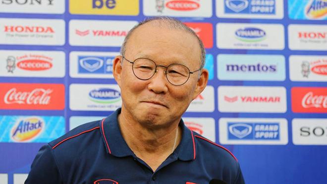 Tuy nhiên việc thiếu vắng thầy Park khiến nhiều CĐV Sài thành mất đi động lực đến sân xem U22 Việt Nam thi đấu. Ảnh: VFF
