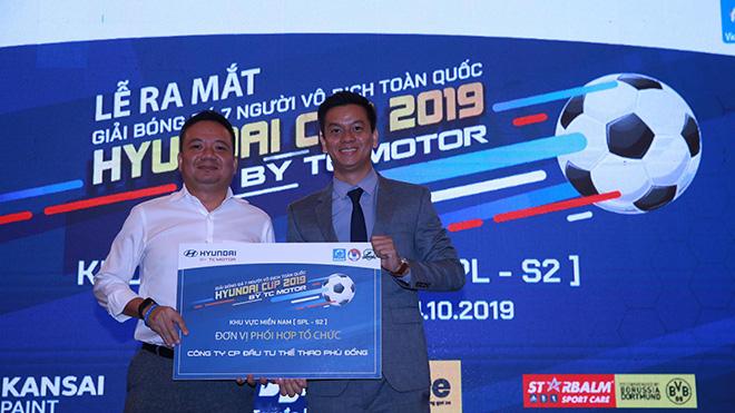 Vietfootball và Phù Đồng là hai đơn vị tổ chức giải năm nay. Ảnh: DP