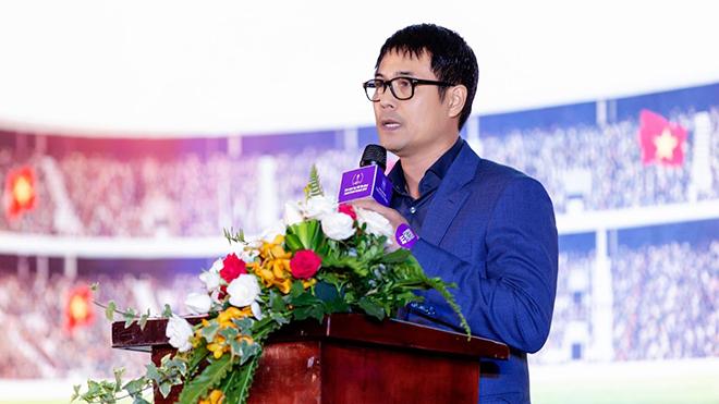 Cựu HLV trưởng ĐTQG tin tưởng CLB sẽ sống tốt với những thành tích hơn mục tiêu kỳ vọng. Ảnh: Hoàng Hà