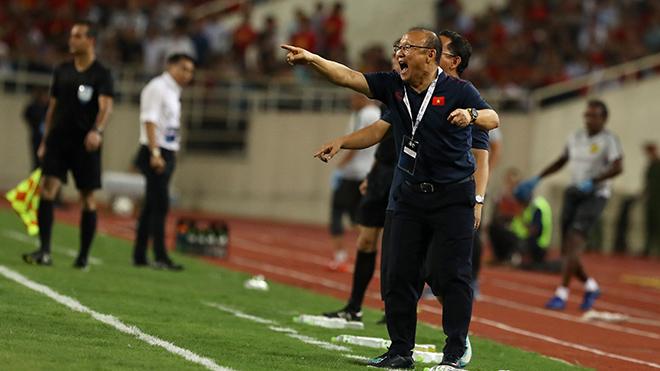 Trận so tài sắp tới với Thái Lan có thể quyết định vé đi tiếp của thầy trò HLV Park Hang Seo. Ảnh: Hoàng Linh