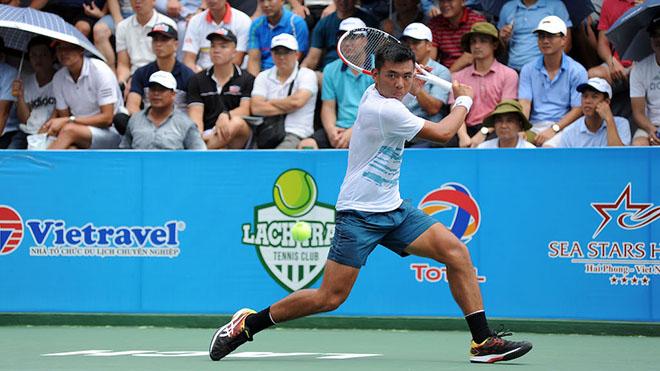 Lý Hoàng Nam cũng là một hy vọng cho quần vợt Việt Nam. Ảnh: TT