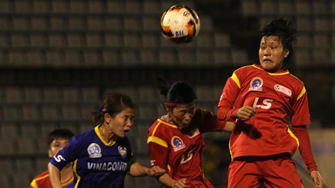 Trận hoà này đẩy Phong Phú Hà Nam phải quyết đấu với Hà Nội nếu không muốn tụt xuống tận hạng 4 trên bảng xếp hạng chung cuộc năm nay. Ảnh: PH