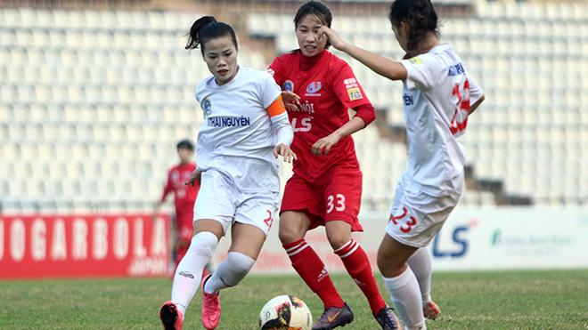 Các cô gái Thủ đô sẽ quyết đấu Phong Phú Hà Nam ở lượt trận cuối chiều 4/10 để xác định ngôi Á quân của giải năm nay. Ảnh: PH