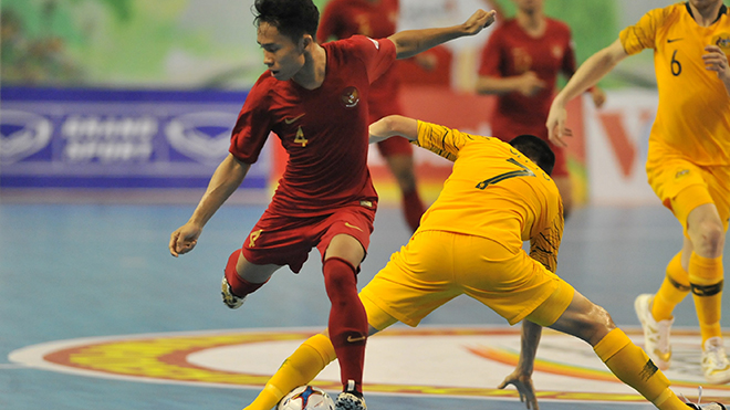 Indonesia đánh bại Australia 8-3 và tiễn đội bóng xứ chuột túi về nước sớm