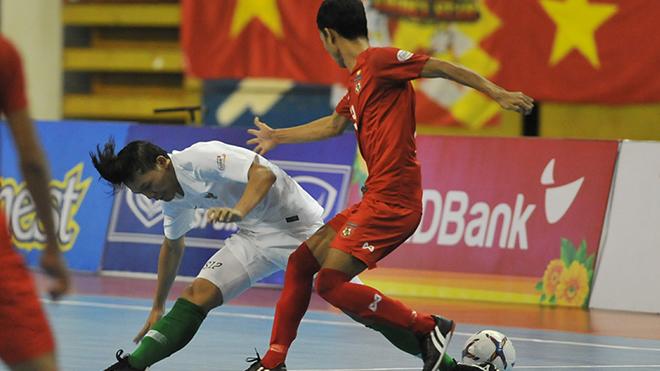 Myanmar (đỏ) cho biết rất muốn gặp Việt Nam vì họ tin sẽ đánh bại chủ nhà