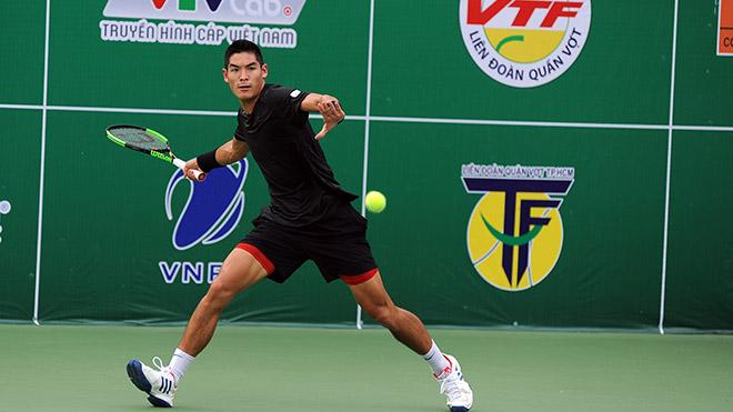 Thái Sơn tỏ ra quá vượt trội so với các tay vợt trong nước. Ảnh: TT