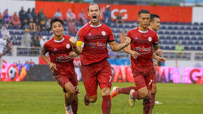 Đội trưởng Huỳnh Kesley chính thức chia tay TPHCM sau mùa giải này. Ảnh: TPHCM