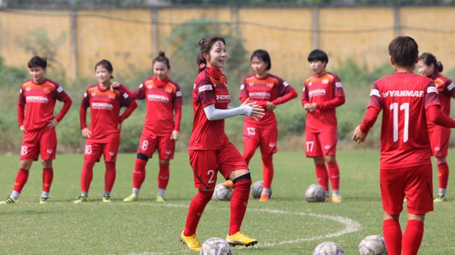 Các cô gái nữ Việt Nam đã 5 lần vô địch SEA Games, bằng với Thái Lan. Ảnh: HT