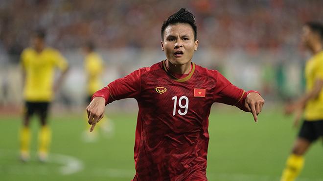 Với Quang Hải, đội bóng của HLV Park Hang Seo được đánh giá nhỉnh hơn Thái Lan ở SEA Games trên đất Philippines tới. Ảnh: Hoàng Linh
