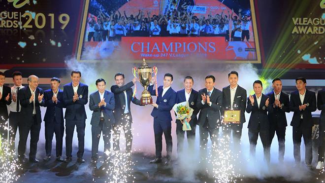 Văn Quyết đã có mùa giải đại thành công với Hà Nội năm nay. Ảnh: VPF