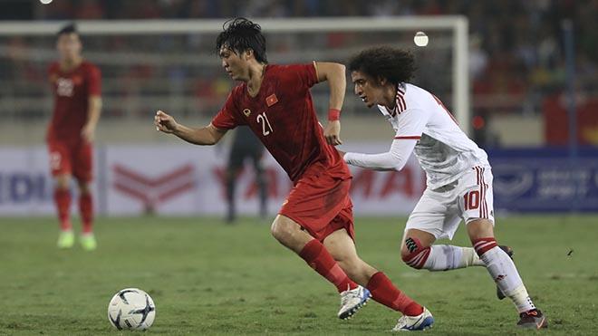 Tuấn Anh là mẫu tiền vệ hào hoa nhưng cũng thừa quyết liệt mà bóng đá Việt Nam may mắn sở hữu. Ảnh: Hoàng Linh