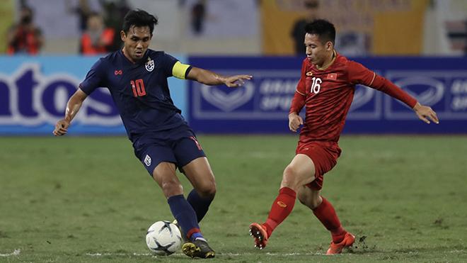 Đội trưởng Dangda của Thái Lan không thể thi đấu trận kế tiếp của đội nhà vì đã nhận đủ 2 thẻ vàng. Ảnh: Hoàng Linh