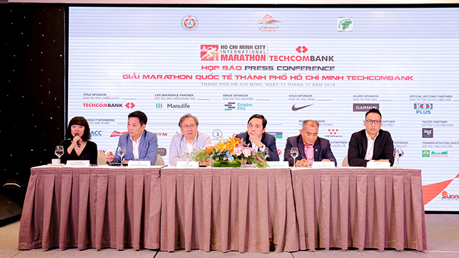 BTC vui mừng thông báo với gần 13 ngàn người tham dự, giải đấu năm nay có quy mô hoành tráng nhất trong các cuộc đua marathon tại Việt Nam từ trước đến nay. Ảnh: BM