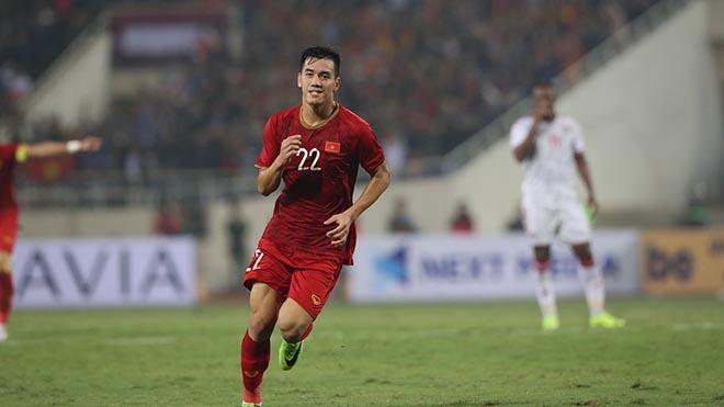 Cầu thủ 22 tuổi hứa hẹn sẽ còn toả sáng thời gian tới. Ảnh: Hoàng Linh