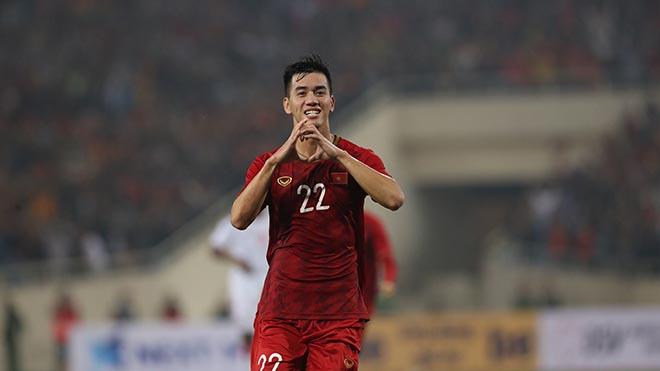 Tiến Linh đã ghi bàn giúp Việt Nam đánh bại UAE 1-0 tối 14-11. Ảnh: Hoàng Linh