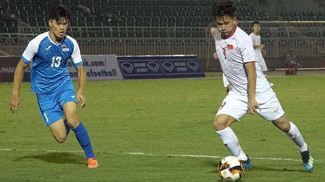 HLV Troussier vẫn chờ đợi tiền đạo này sẽ trở lại khi gặp U19 Guam và U19 Nhật Bản. Ảnh: Linh Phạm